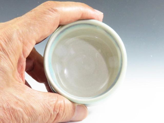 福島県のやきもの 会津本郷焼の酒器ぐい呑