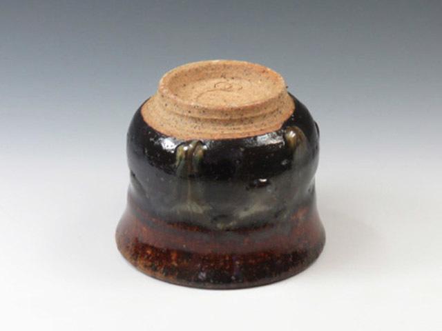 岩手県やきもの 鍛冶丁焼の酒器ぐい呑