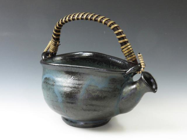 岐阜やきもの 小糸焼の酒器つる付き注器
