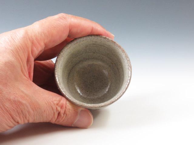 奈良県やきもの 赤膚焼の酒器ぐい呑